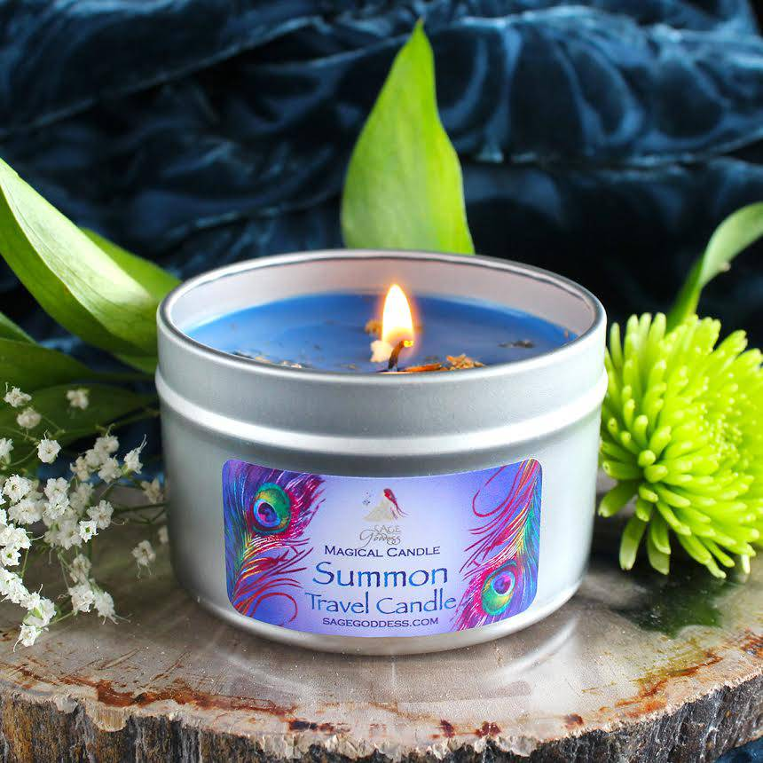summon travel candle