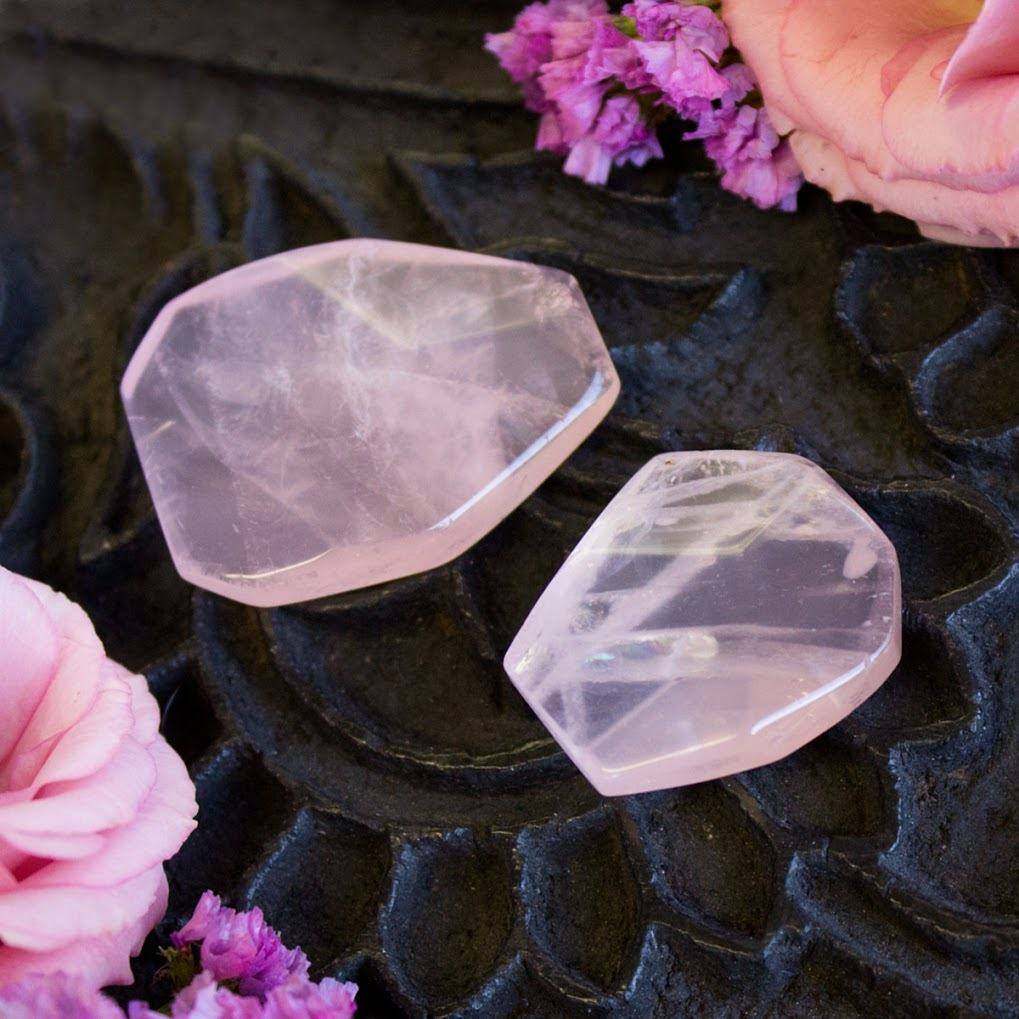 Faceted Rose Quartz