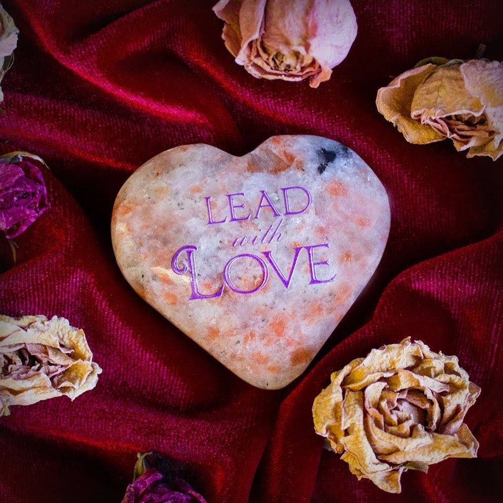 Lead with Love Sunstone Hearts