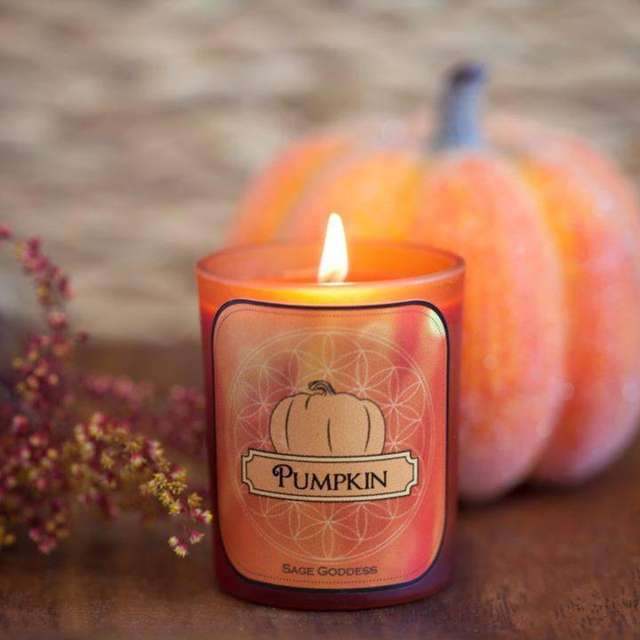 Pumpkin Votives