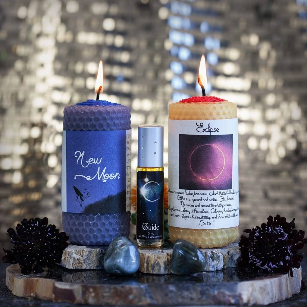 Solar Eclipse Intention Set