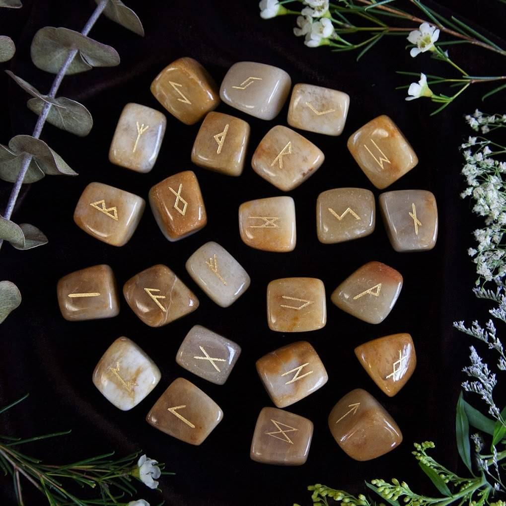 Yellow Jade Runes