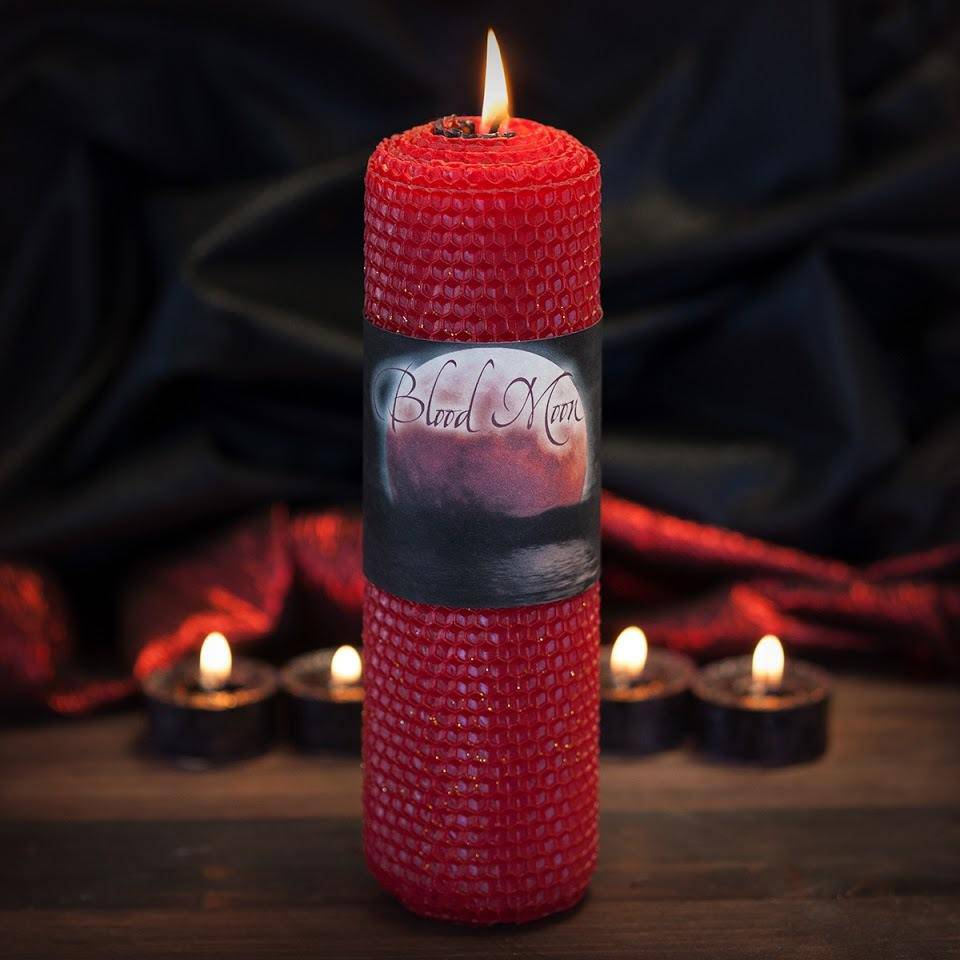 Blood Moon Candles