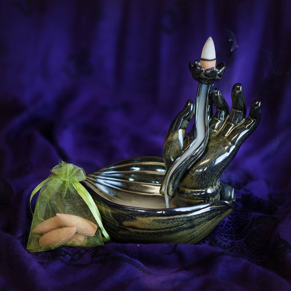 Mudra Hand Incense Burners
