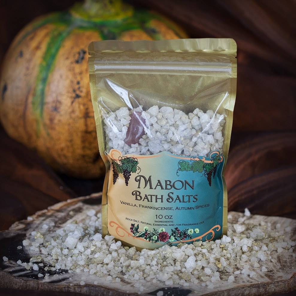 mabon bath salts