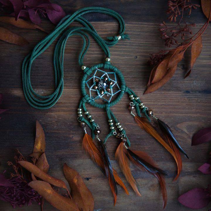 Dreamcatcher Long Necklace