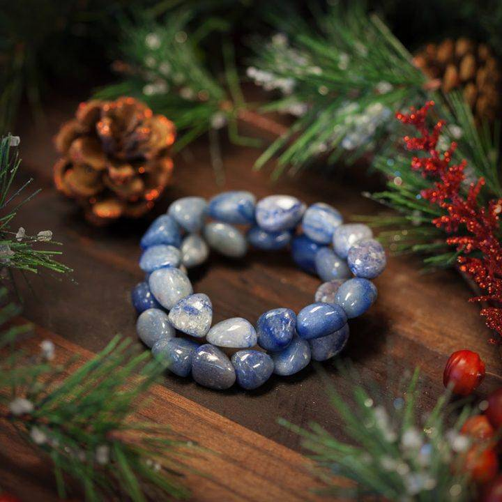 Blue Quartz (Dumortierite) Bracelet