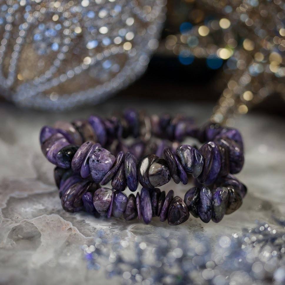 Charoite Chipstone Bracelet