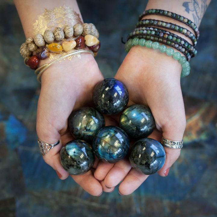 Labradorite Sphere 5_11