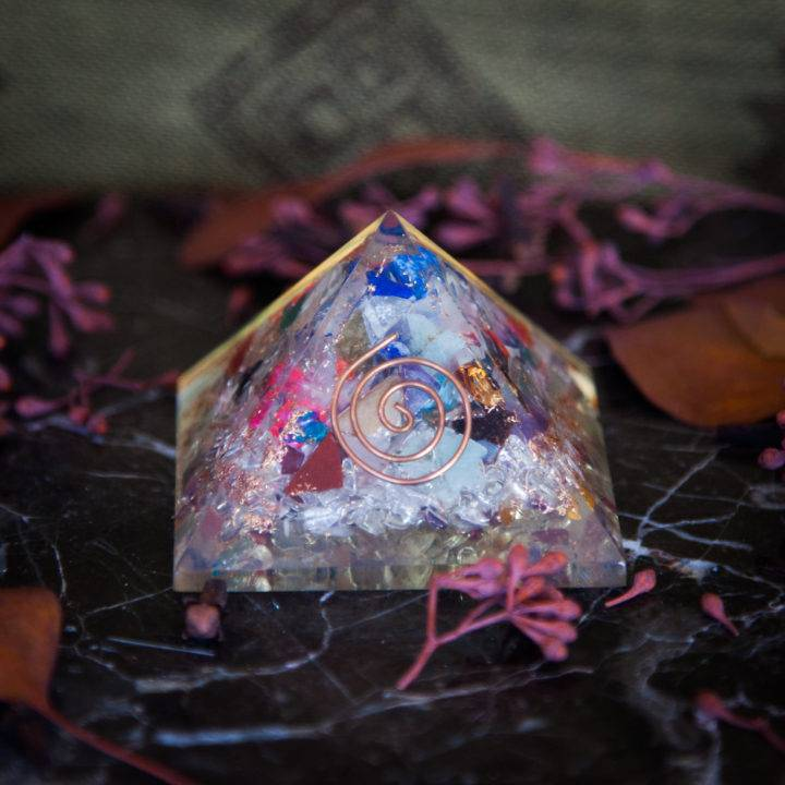 Orgonite Vortex Pyramid _ 1 of 2 _ 7 _ 2