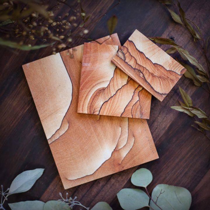 Zion Sandstone Altar Plates