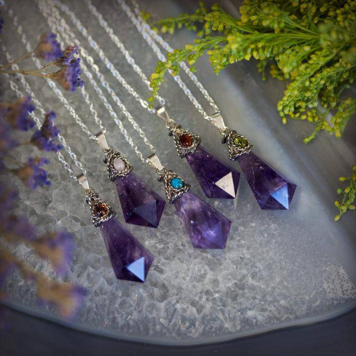 Antique Amethyst Peace Pendant 6_9 featured