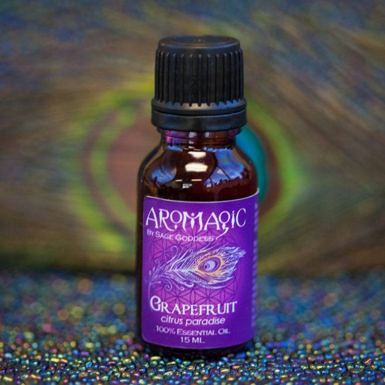 Grapefruit Essential Oil for self-love, mental clarity, and emotional openness