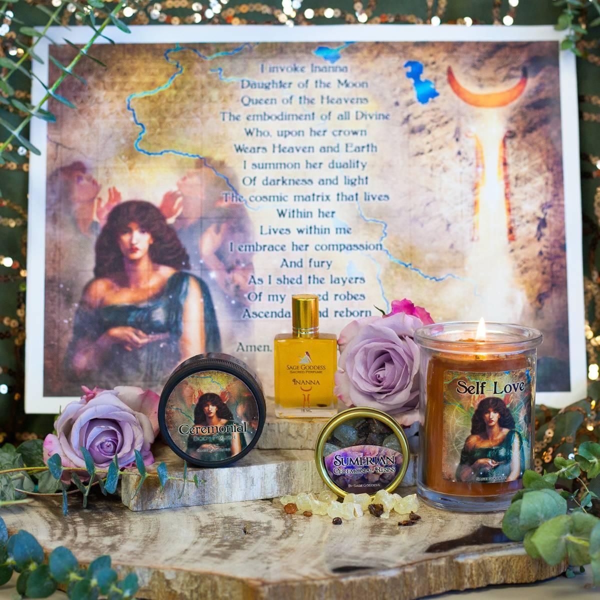 Magic of Sumeria Sabbatical Set - Self Love DD 12_29