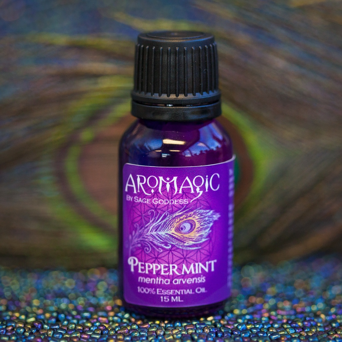 Peppermint Essential Oil for rejuvenation, mental clarity, and pain relief