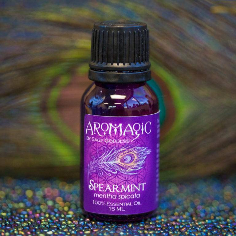 Spearmint Essential Oil for confidence, mental clarity, and hope