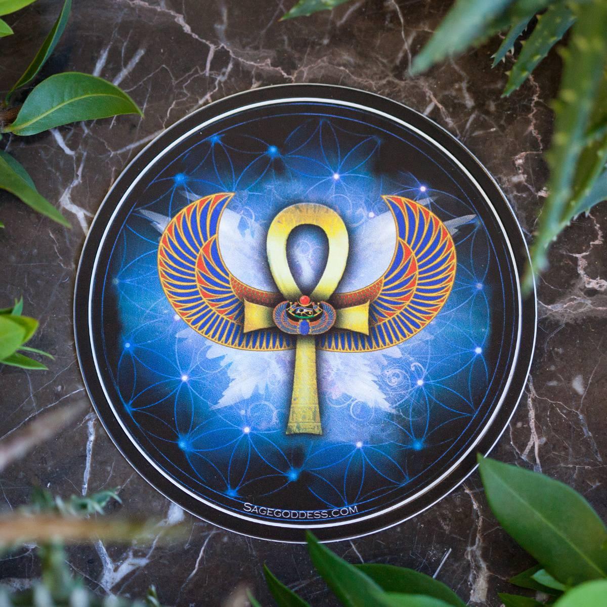 Ankh Sticker 1_29