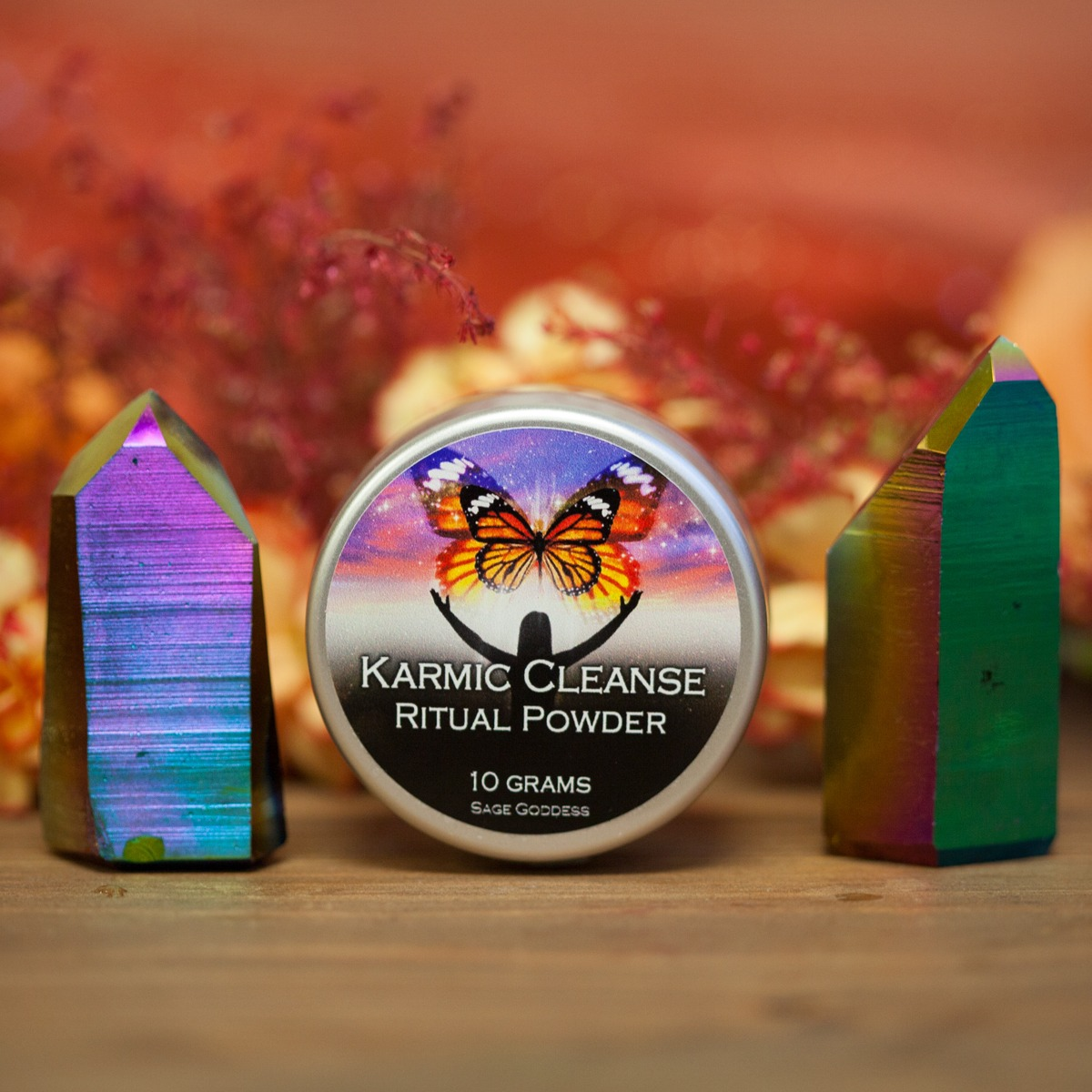 A ritual of karmic cleansing at home