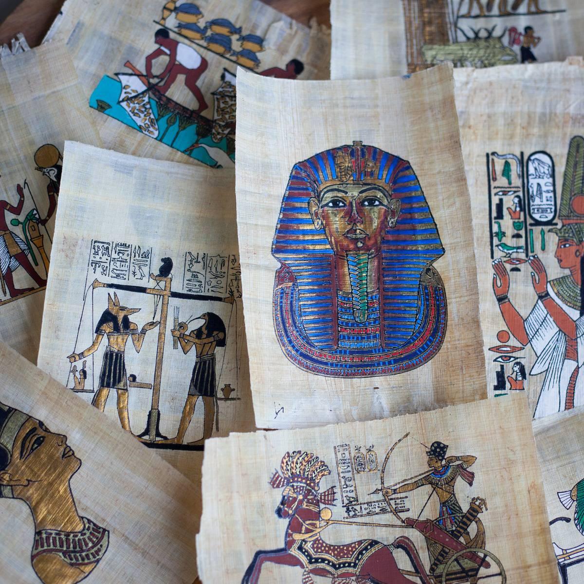 Egyptian Hieroglyphic Art Sheets 2_3