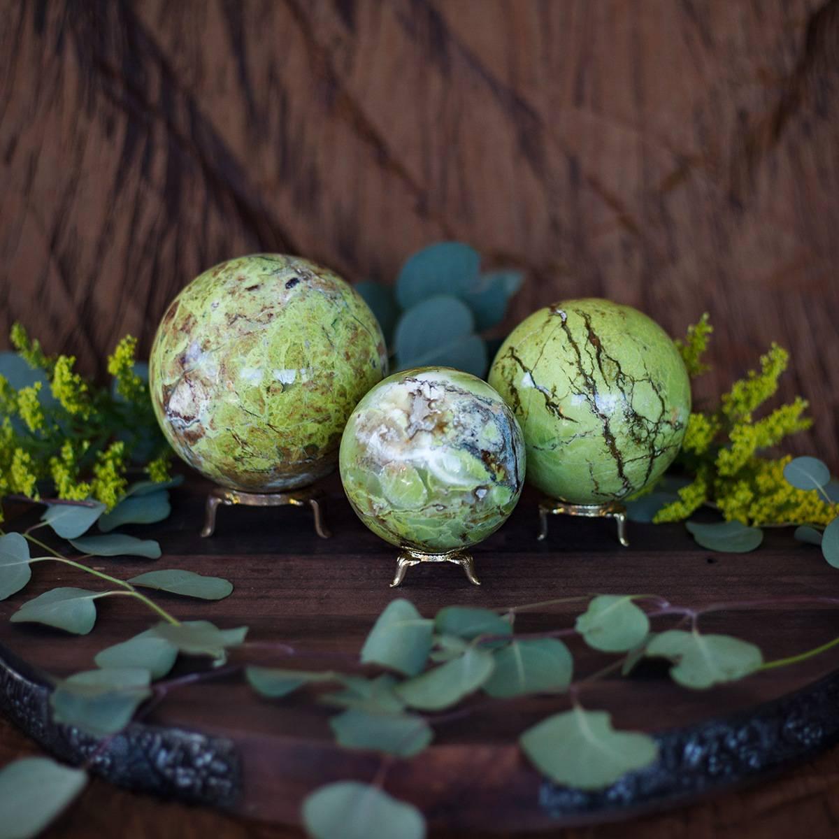 Green Opal Sphere 2_5