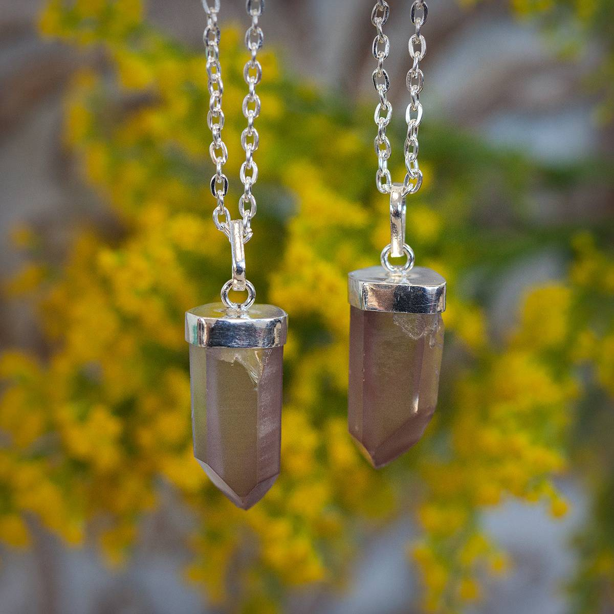 Lithium Quartz Point Pendant 2_19