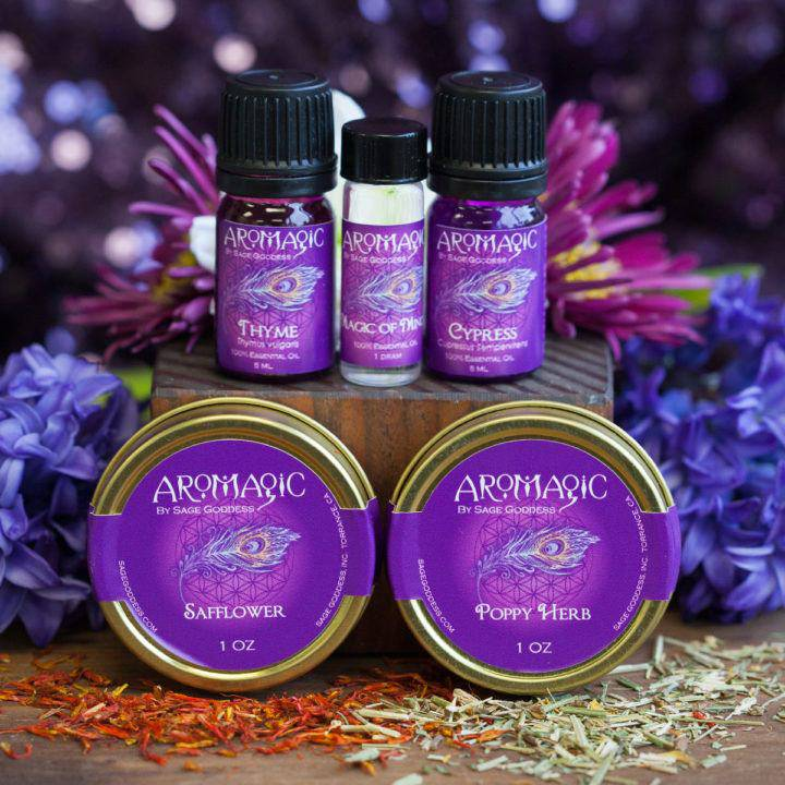 AroMagic Class Tools- Herbs and oils for the original priestess 3_13