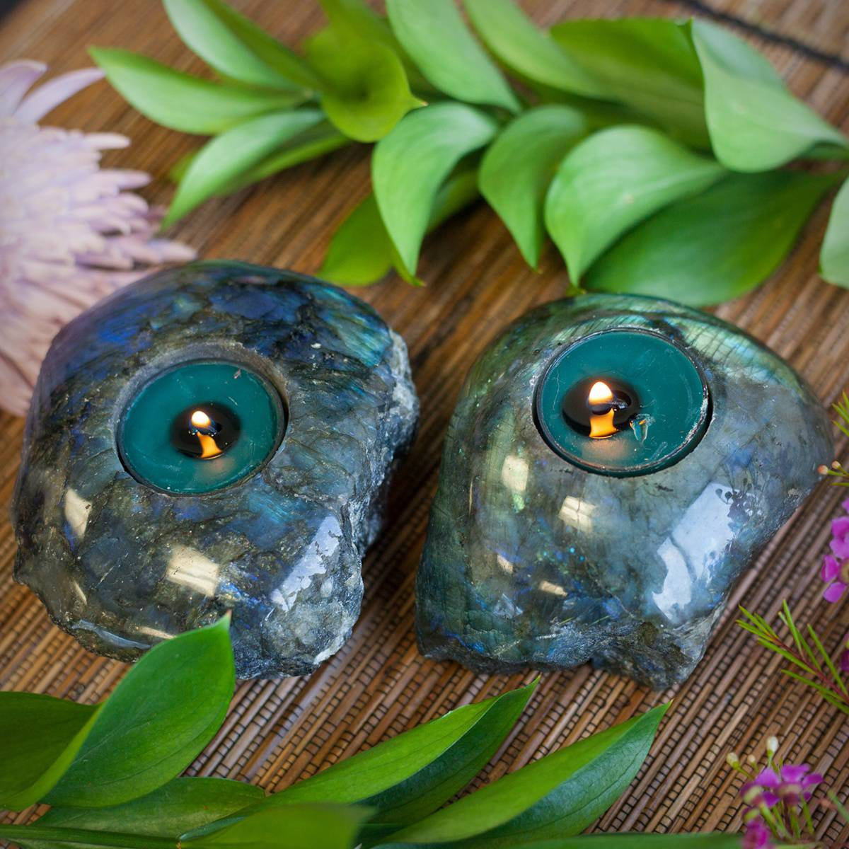 Labradorite Tealight Holder 3_21