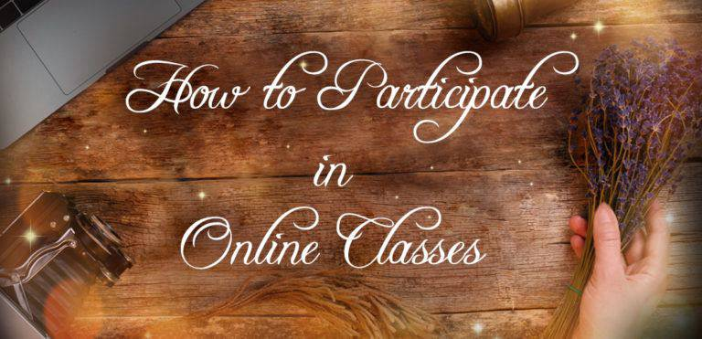 How to Participate in Sage Goddess Live Online Classes