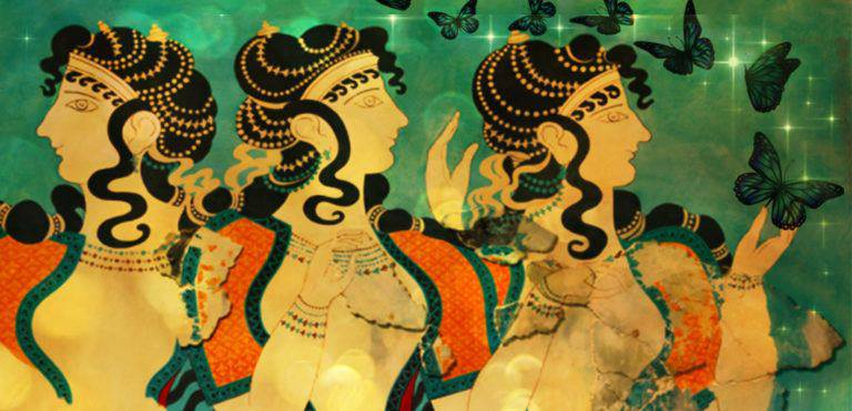 Moon & Minoan Mystery – Shed your skin & open your wings