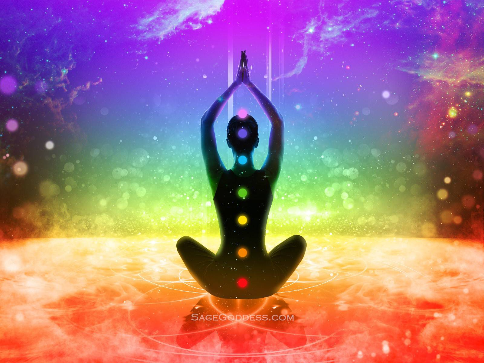 Free Custom Sage Goddess Downloadable Chakra Wallpaper