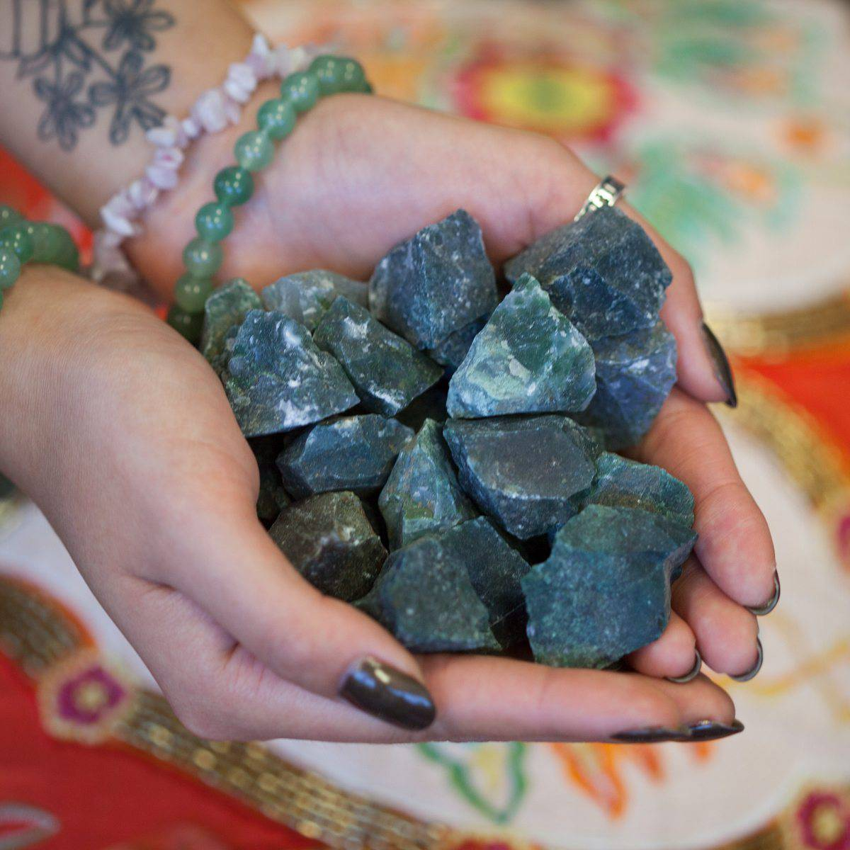 Natural Moss Agate 4_12