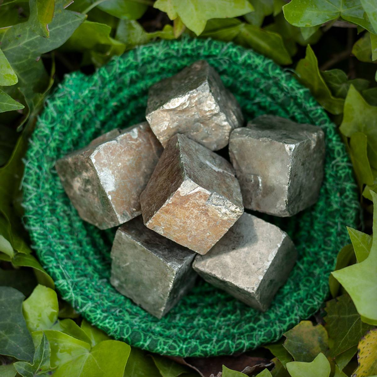 Natural Pyrite Cube 4_10