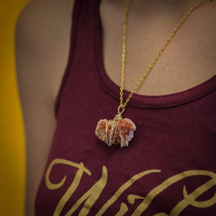 Wire-Wrapped Vanadinite Pendants 1 of 2 _ 7_6