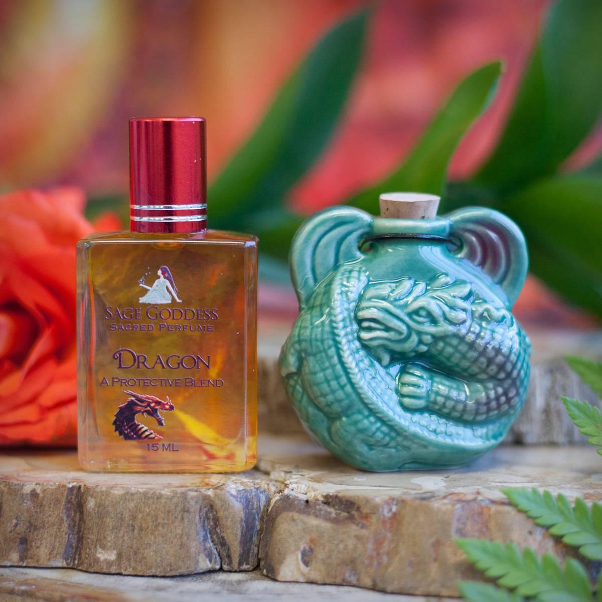 Dragon Apothecary Bottle with Dragon Perfume on 5_30