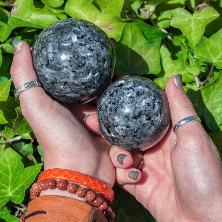 Larvikite Sphere DD _ 7 _ 2