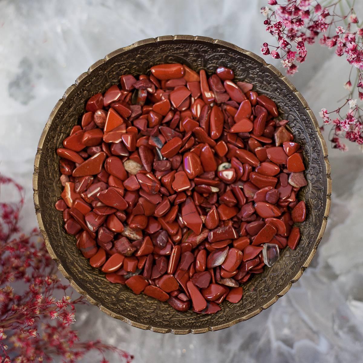 Red Jasper Chip Stones 5_20