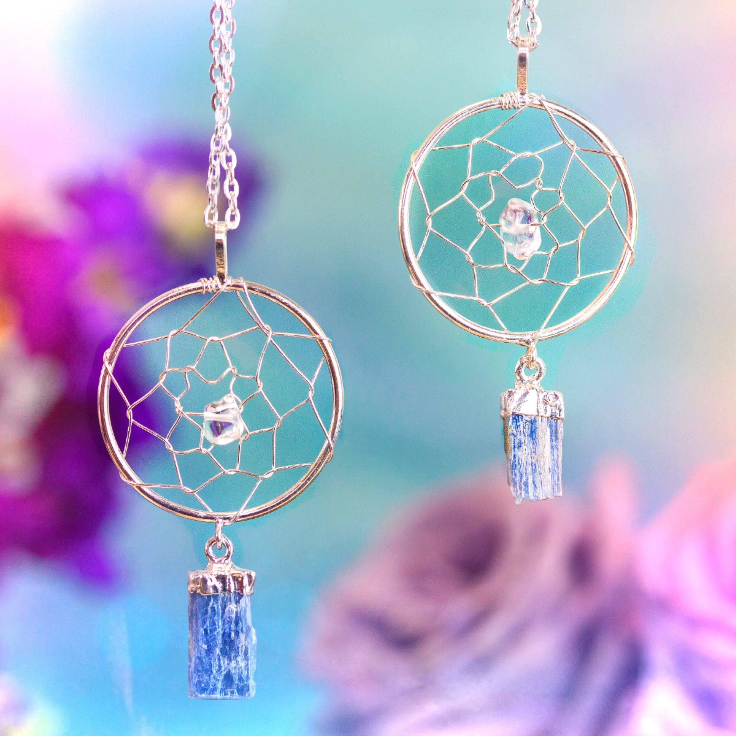 Total alignment dreamcatcher pendants for protection and heightened total alignment dreamcatcher pendants for protection and heightened spiritual awareness aloadofball Choice Image