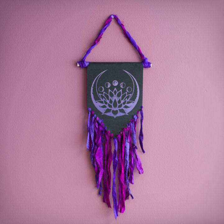 Lotus Moon Phase Wall Hanging 6_4 Primary
