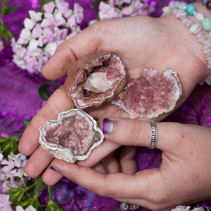 Pink Amethyst Geode 6_1 Primary