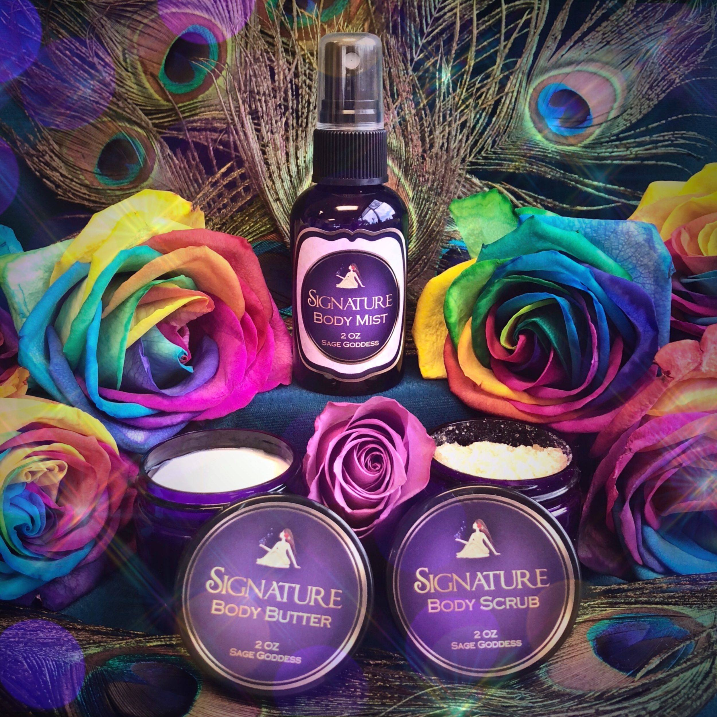 SG Signature Bath Set for sensuality and luxurious pampering