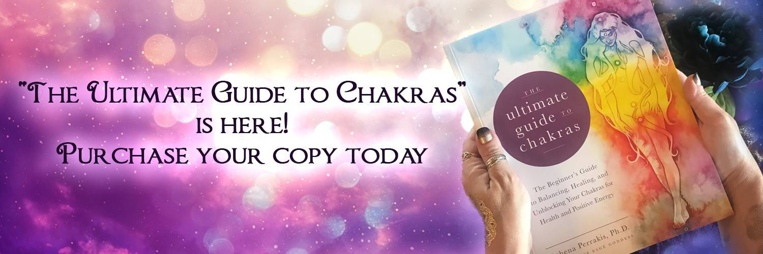 Ultimate Guide to Chakras, a book by Athena Perrakis. Purchase your copy today!