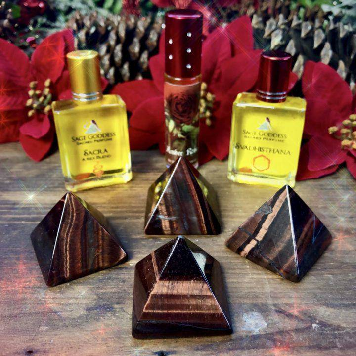 Grounded_Courage_Red_Tiger_Eye_Pyramid_With_Free_Intuitively_selected_perfume_1of3_12_10