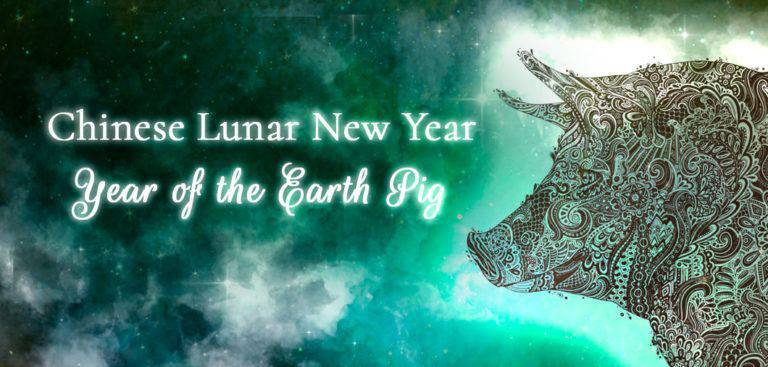 Chinese Lunar New Year: Year of the Earth Pig