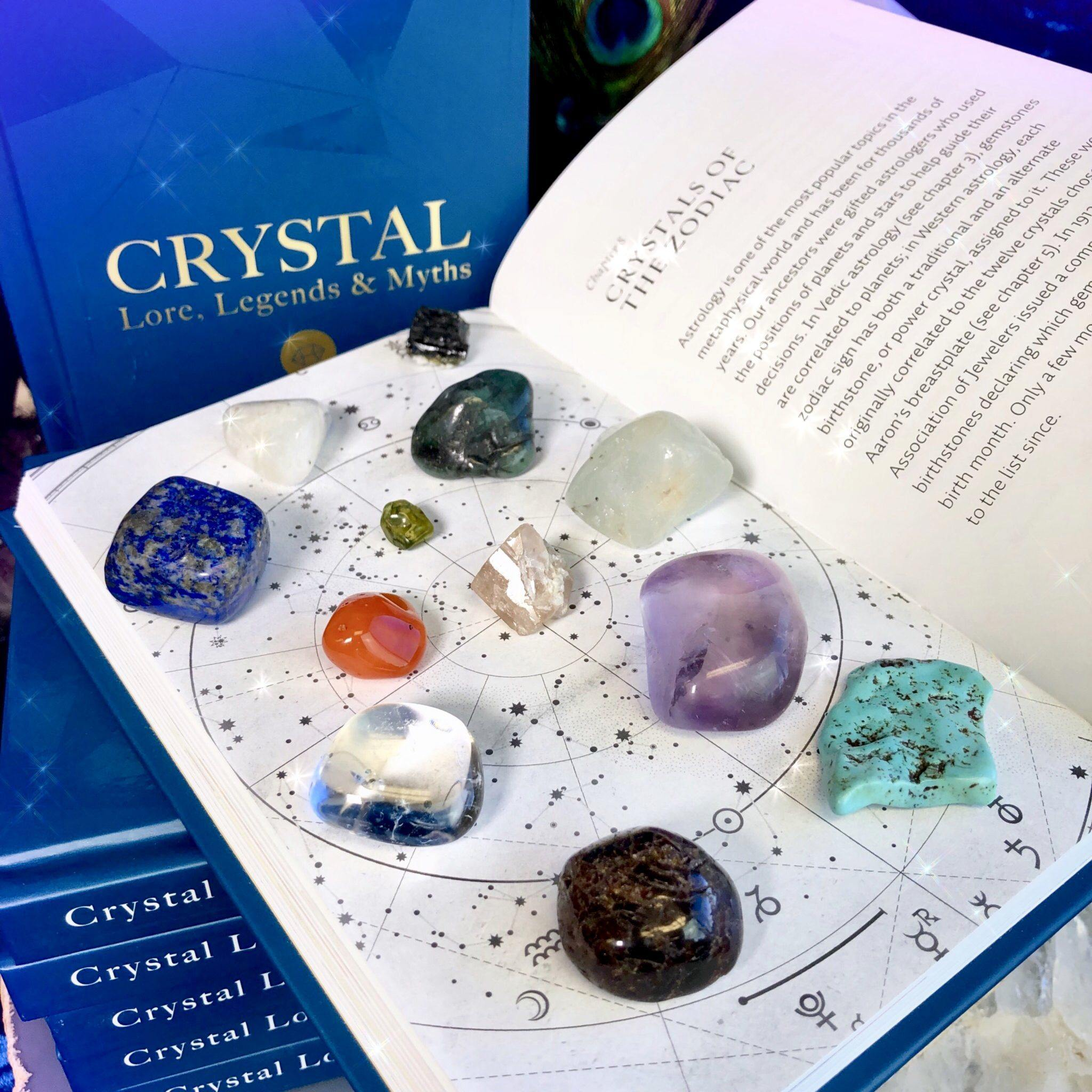Crystal Lore, Legends & Myths: Crystals of the Zodiac Gemstone Set
